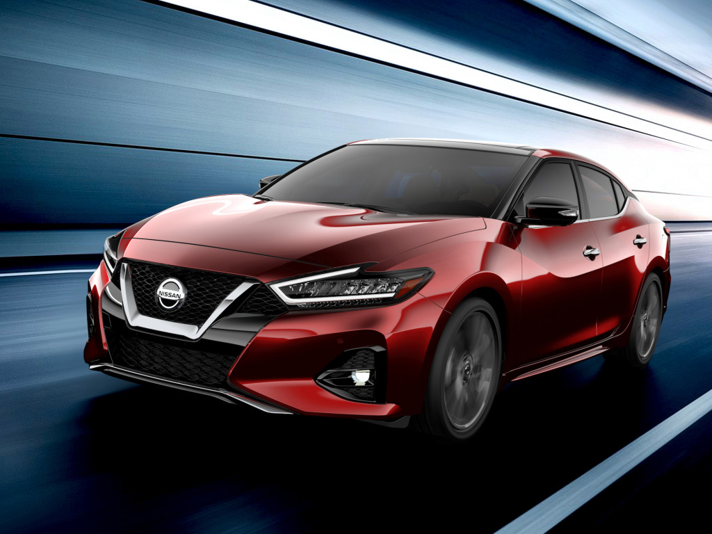 Nissan привезет обновленный седан Maxima в Лос-Анджелес