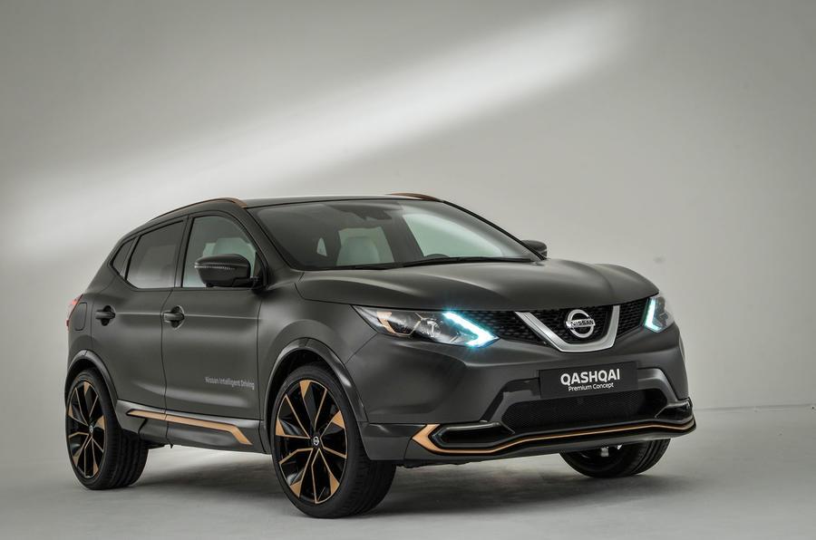 Nissan создаст серийный Qashqai Premium