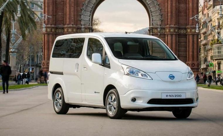 Nissan представил семиместный электрический минивэн