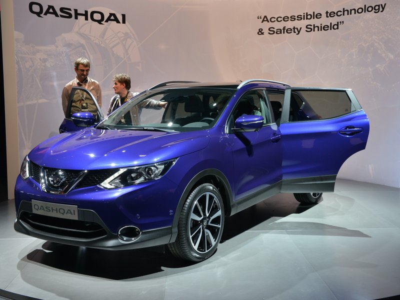 """Передняя подвеска у Nissan Qashqai 2014 модельного года останется знакомым  """"МакФерсоном """", а задняя готовит сюрприз..."""