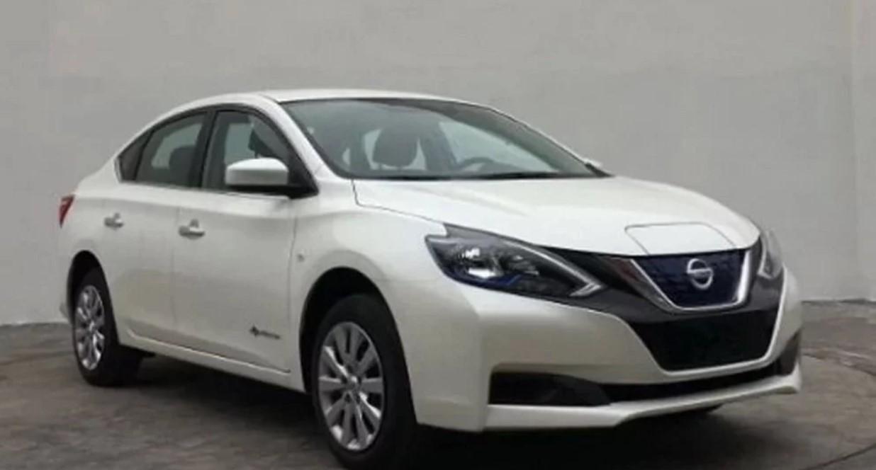 Седан Nissan Sentra станет электрическим
