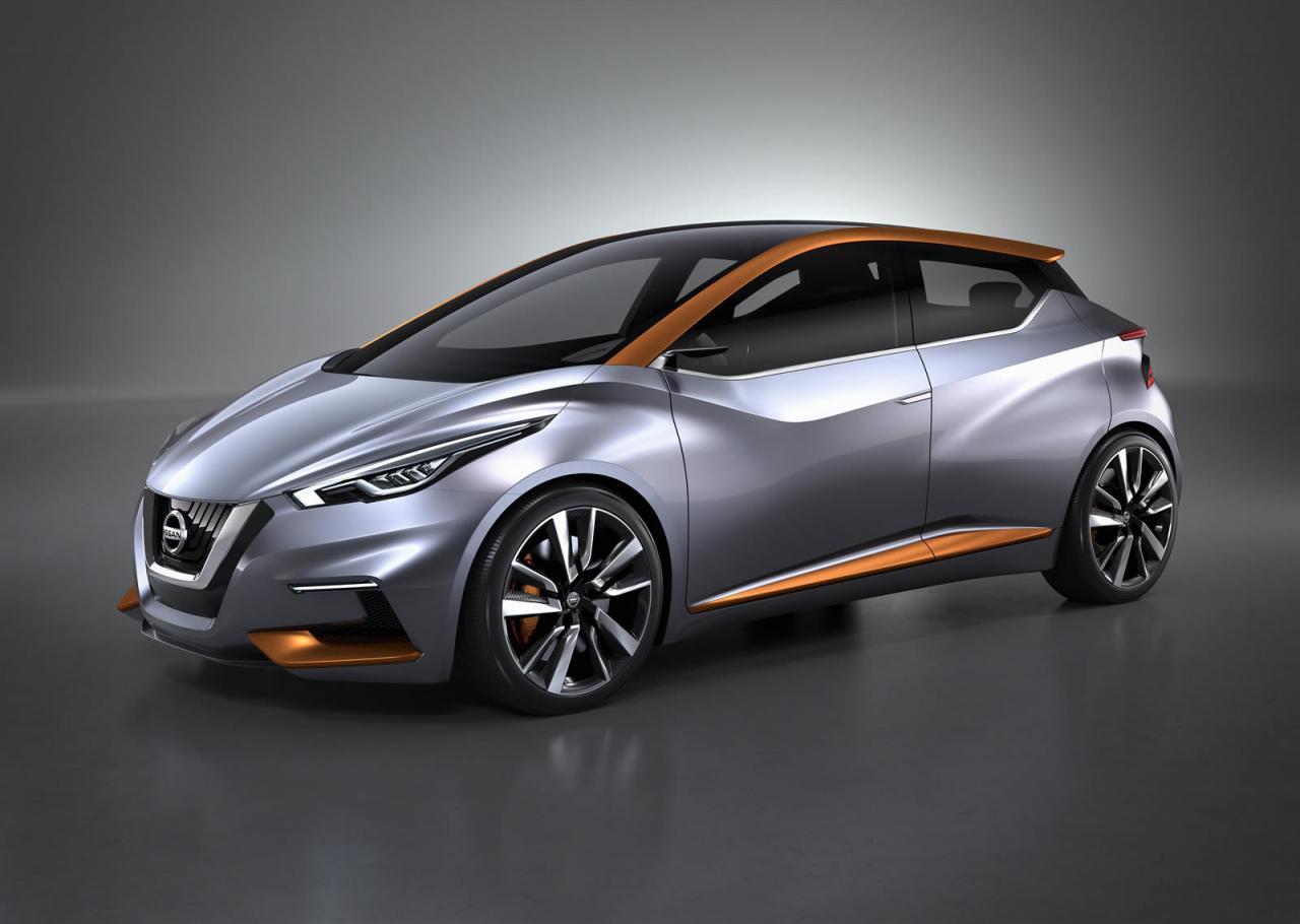Nissan показал будущее хетчбэков на примере концепта Sway