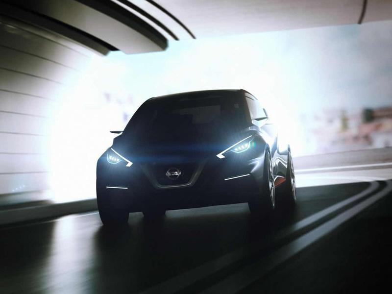 Nissan покажет в Женеве предвестника новой Micra