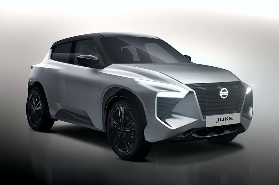 Nissan Juke нового поколения появится в 2019 году