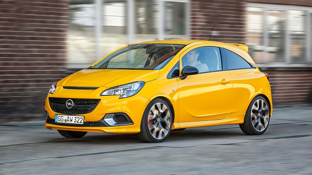 «Зажигалку» Opel Corsa GSi оценили в 20 тысяч евро