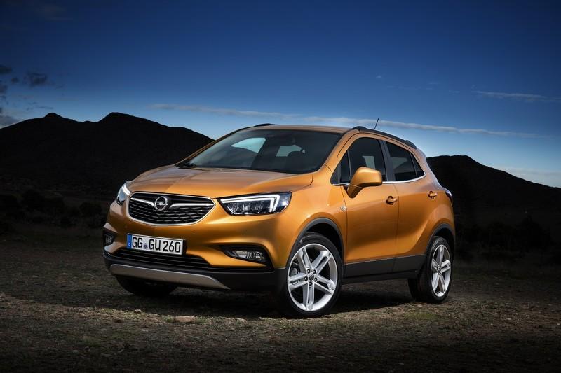 Opel представил обновлённый кроссовер Mokka