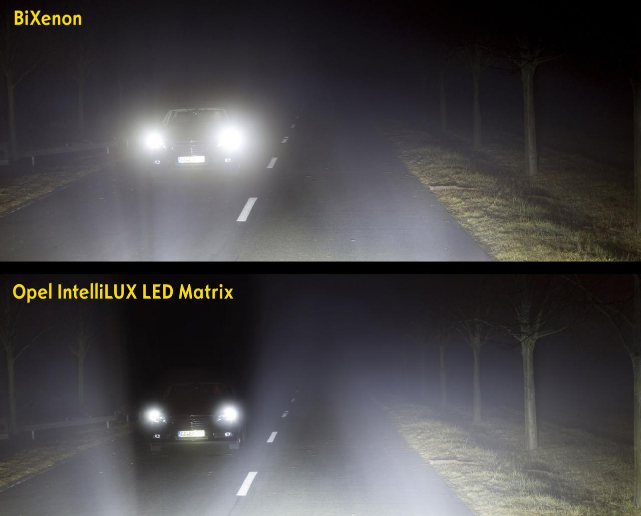 Opel Astra LED