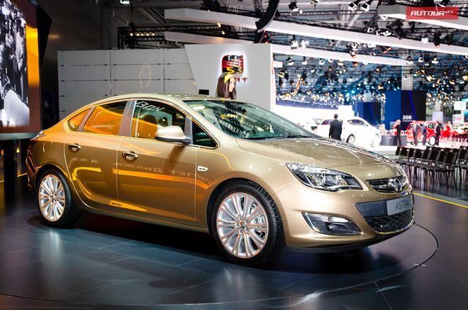 Opel Astra седан — экстерьер