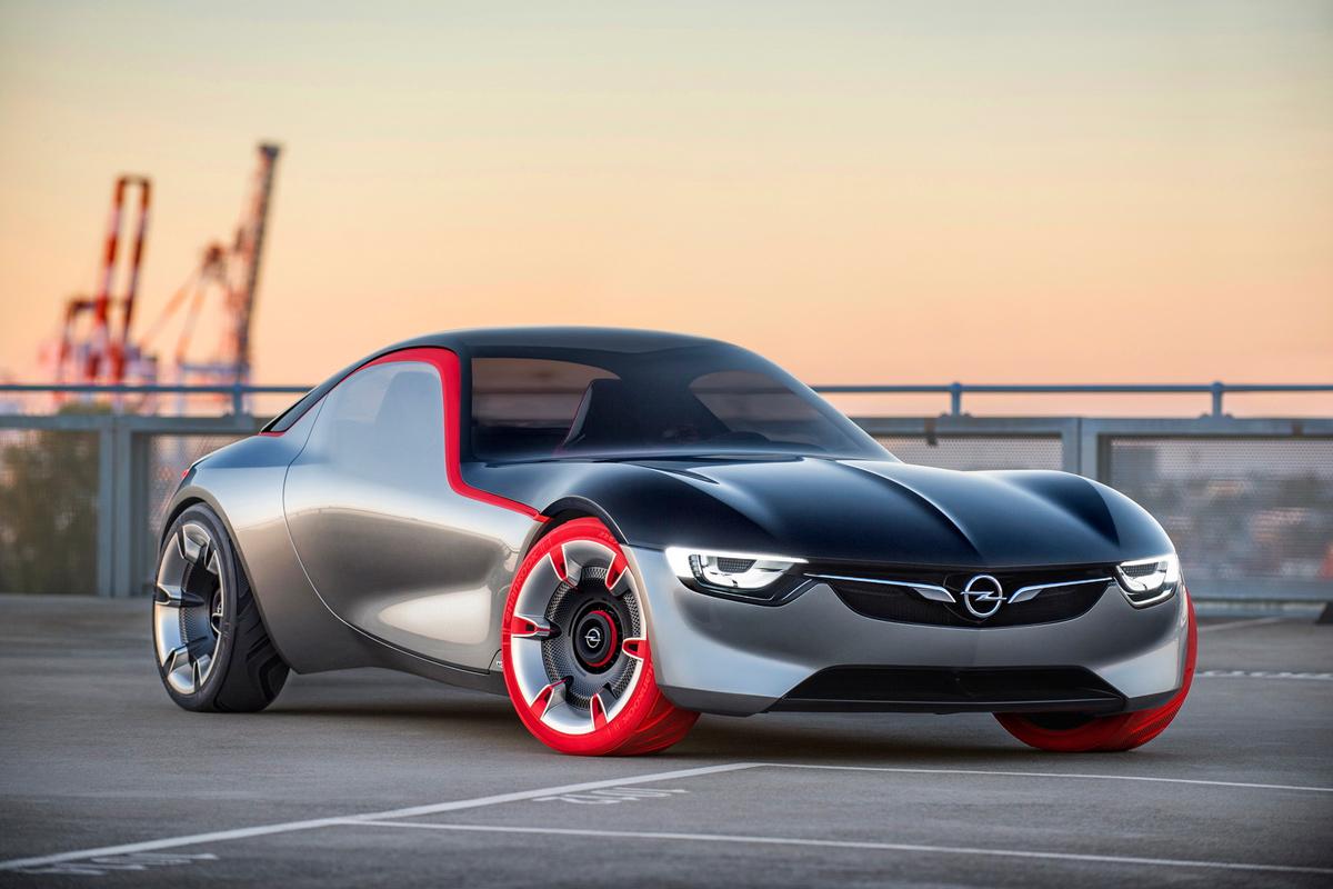 Opel представил купе без ручек