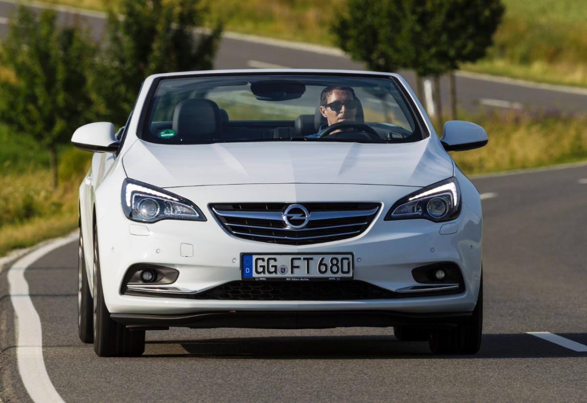 Opel представит самый мощный кабриолет