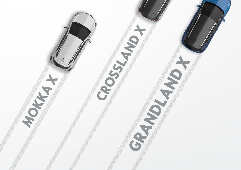Opel раскрыл название нового кроссовера из семейства «X»