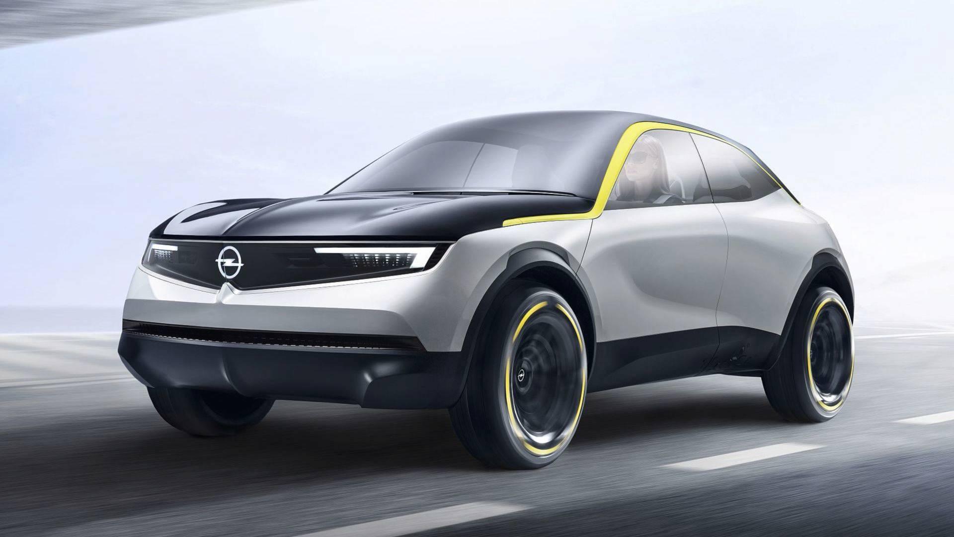 Opel GT X Experimental показал какими будут будущие кроссоверы марки
