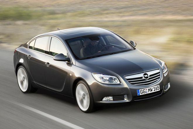 Opel Insignia — экстерьер