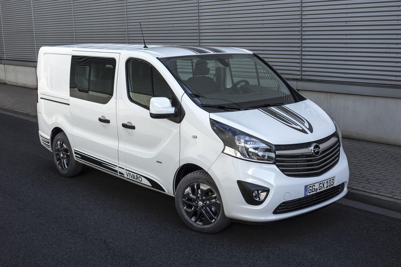 Opel Vivaro Sport 2017 оценили в гривнах