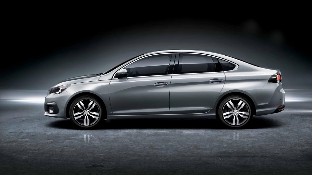 Peugeot показала седан 308 и обновлённый кроссовер 3008 для Китая