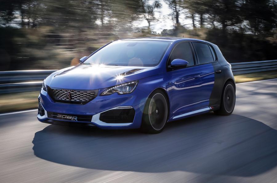 Peugeot выпустит гибридный «мега-хэтчбек»