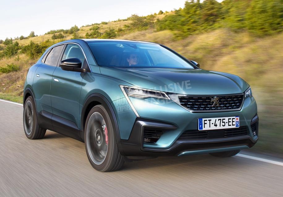 Peugeot (Пежо) в 2020г. покажет новое кросс-купе 4008