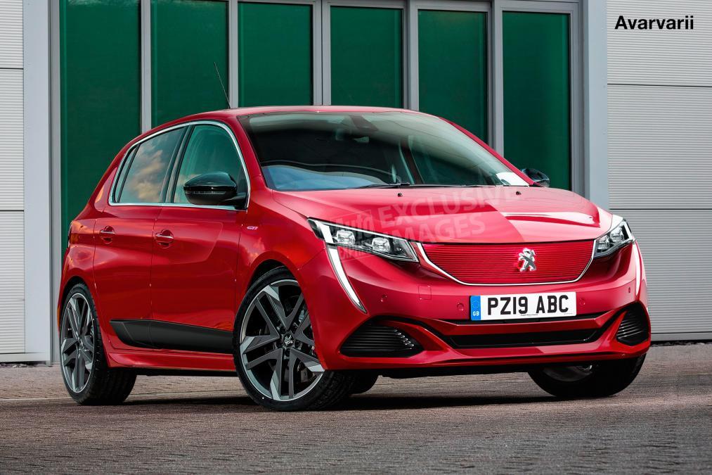 Новый Peugeot (Пежо) 208 GTi получит нетолько лишь бензиновое выполнение