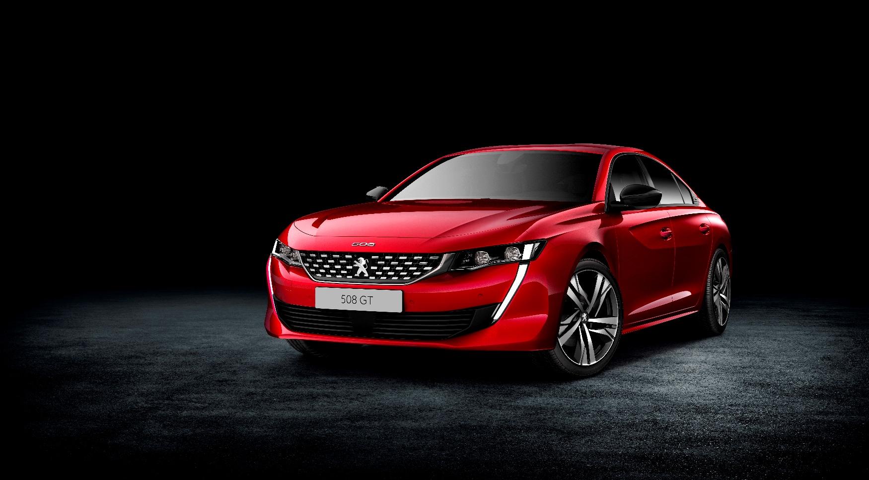 Peugeot 508 нового поколения стал лифтбеком