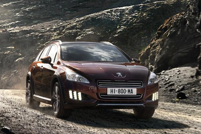 Peugeot представила внедорожный универсал