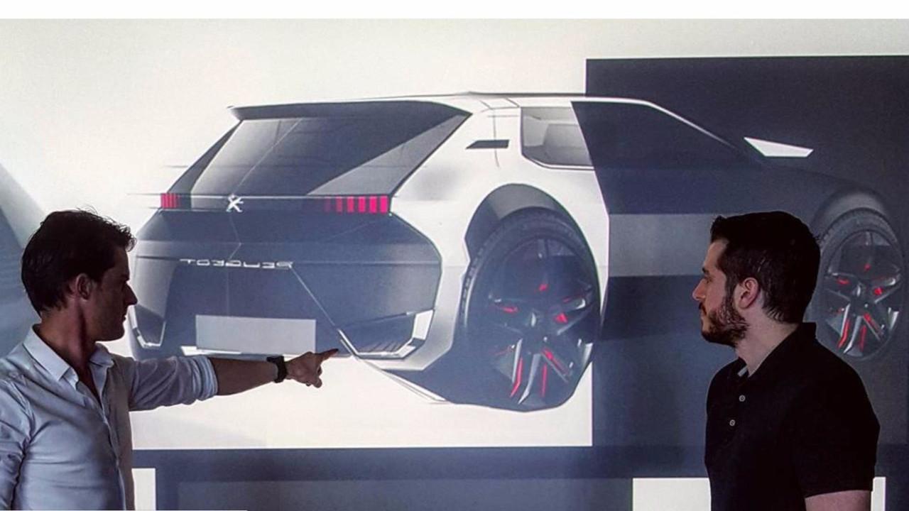 Дизайнер Peugeot показал современную интерпретацию хэтча 205 GTI