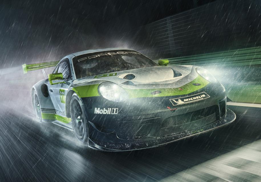 Porsche представила гоночное купе 911 GT3 R