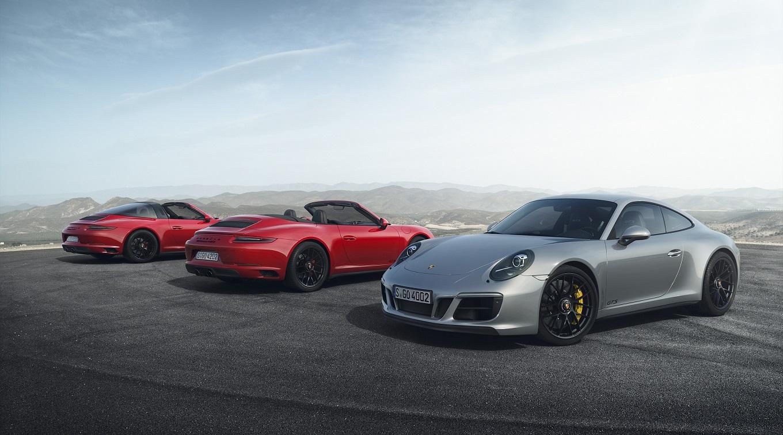 Порш  911 вверсии GTS лишился атмосферного мотора