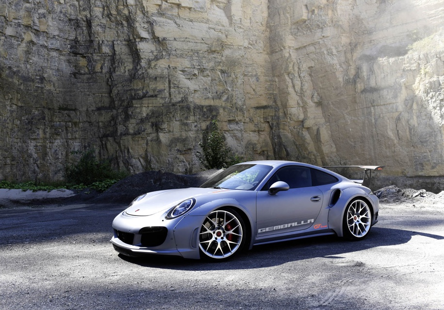 Ателье Gemballa прокачало Porsche 911 Turbo