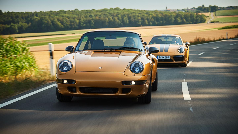 Porsche представила особый спорткар Project Gold