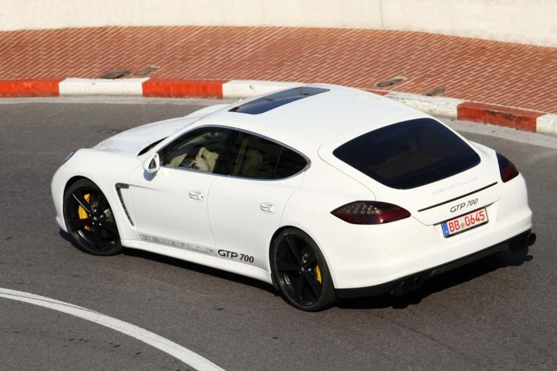 Тюнингованый Porsche Panamera - самое быстрое двухтонное авто