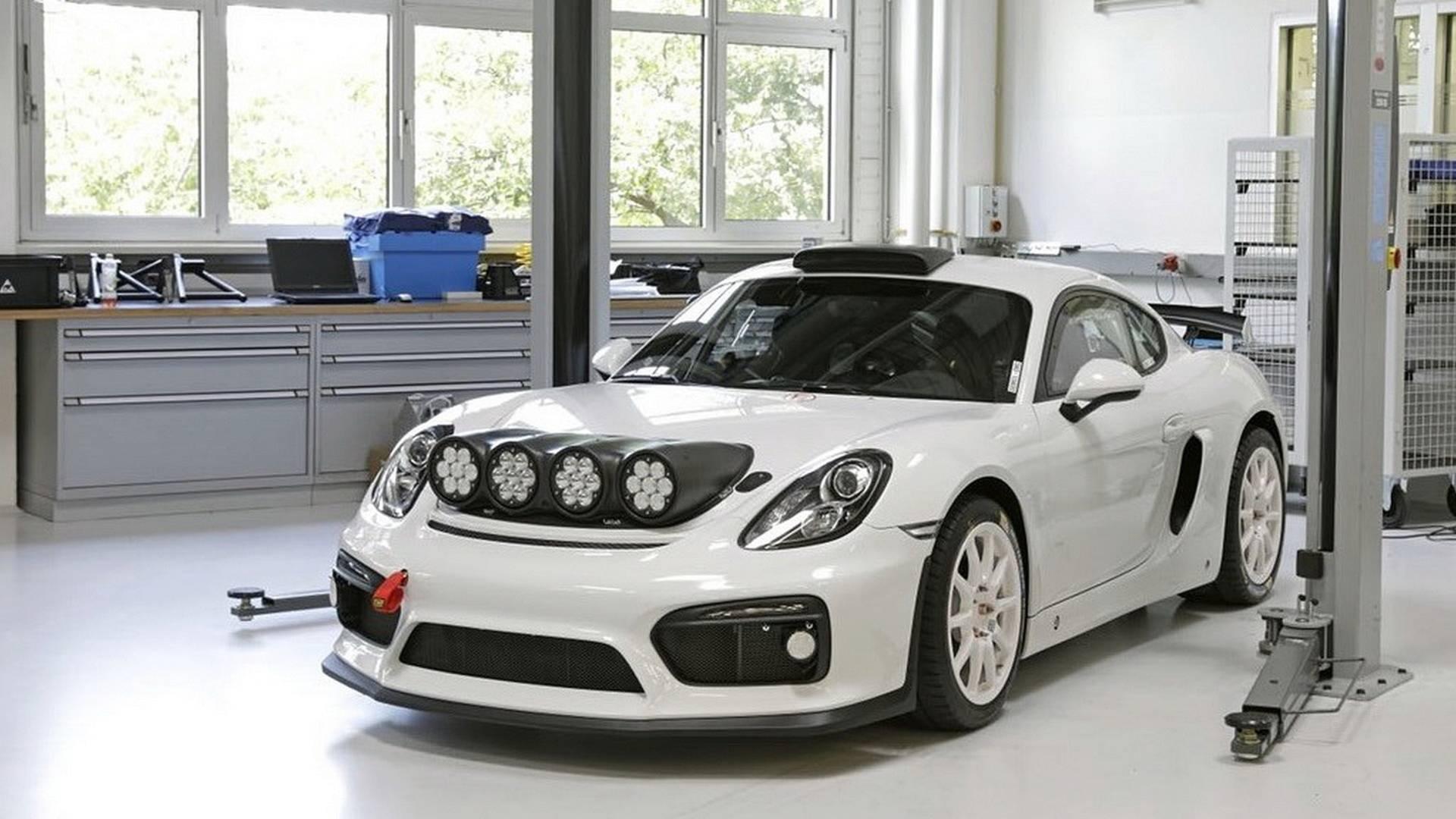 Porsche Cayman GT4 Clubsport примет участие в ралли