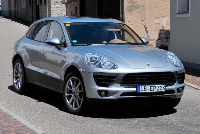 Маленький кроссовер Porsche покажут в ноябре
