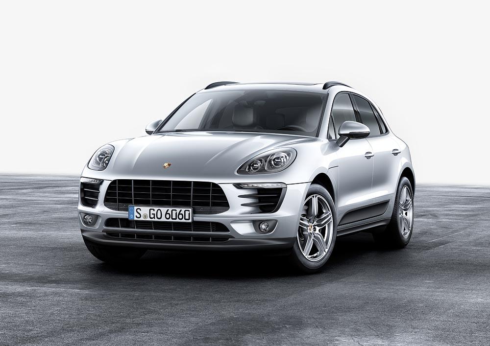 Porsche привезёт в Украину четырёхцилиндровый Macan