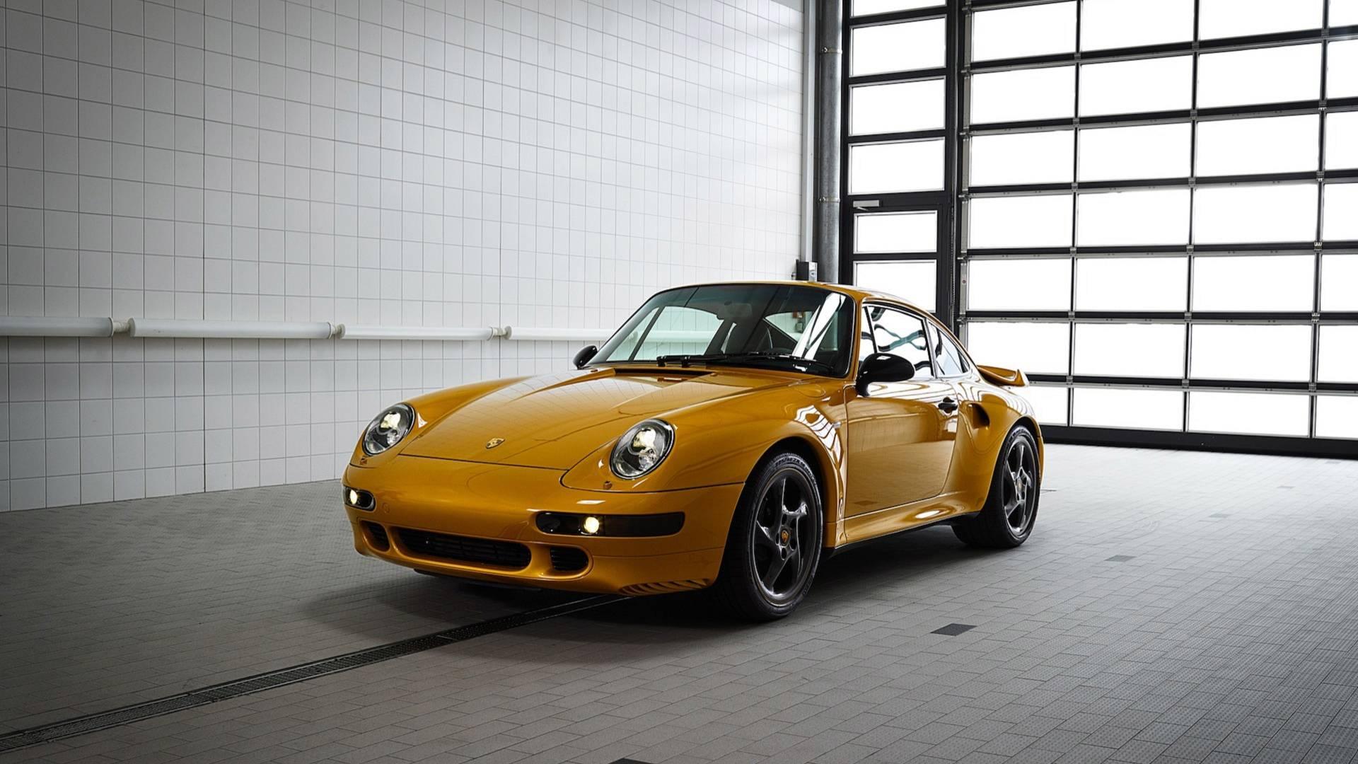 Особое купе Porsche Project Gold продали на аукционе всего за 10 минут