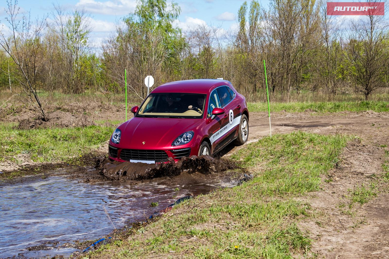 Porsche грязи не боятся?