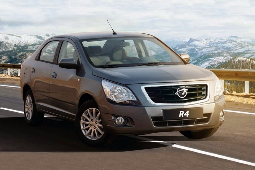 GM Uzbekistan запустила производство перелицованного Chevrolet Cobalt