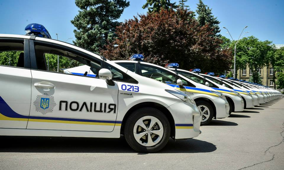 Национальная полиция планирует обновить автопарк