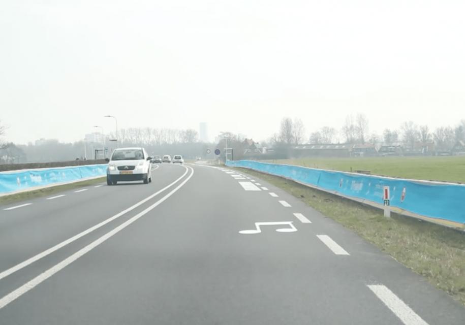 В Нидерландах демонтировали «поющую» дорогу, которая заставляла водителей соблюдать скоростной режим