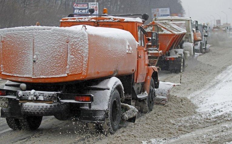 В Киеве запущена система мониторинга снегоуборочной техники