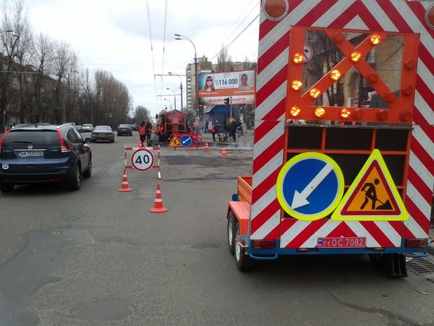 Названы киевские дороги, которые будут чинить в 2016 году