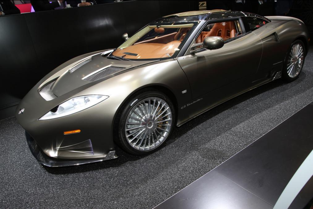 Spyker вернулся к жизни с купе С8 Preliator