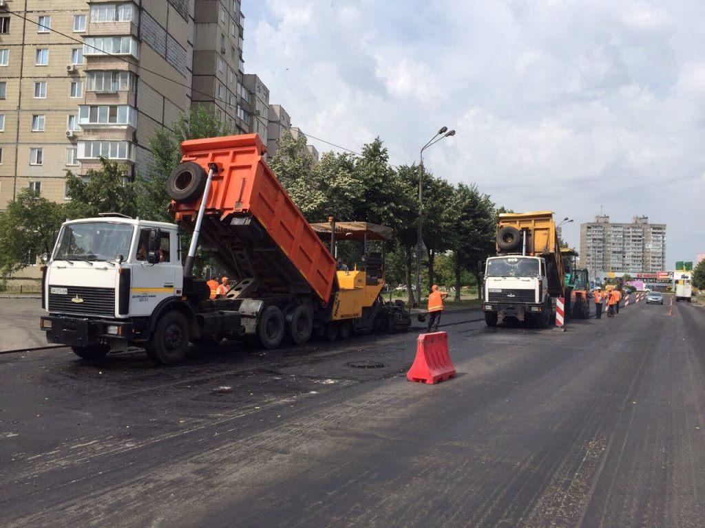 В Киеве с 24 по 28 июня будут перекрывать дороги из-за ремонтов и концертов