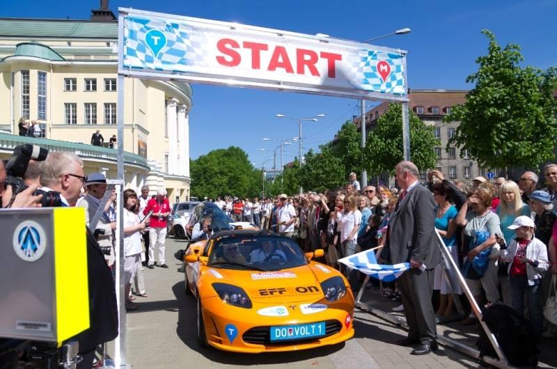 Киев станет местом старта европейского марафона электромобилей