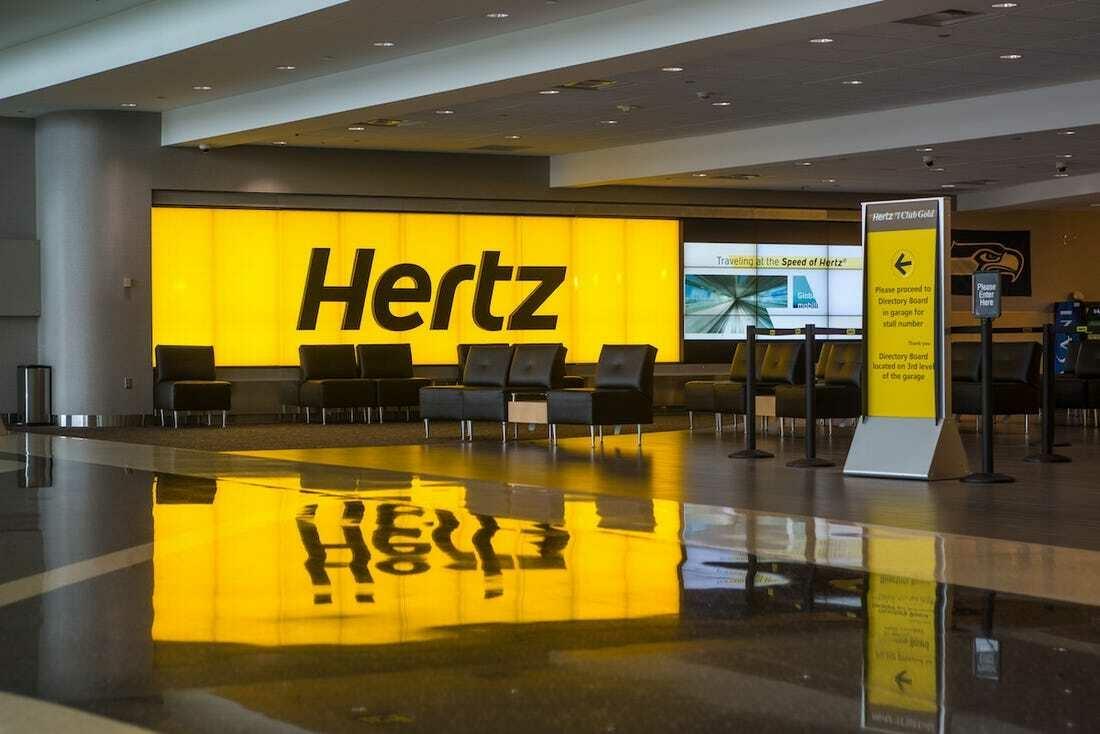Прокатная компания Hertz объявила о банкротстве
