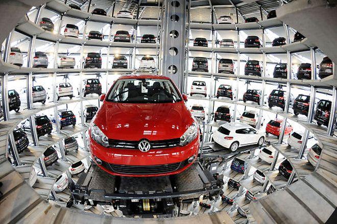 VW — парковка
