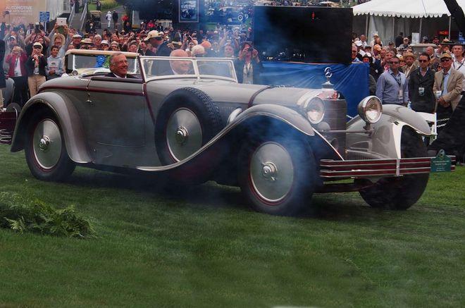 Mercedes-Benz Saotchik Torpedo (1928) — экстерьер, в динамике, в движении