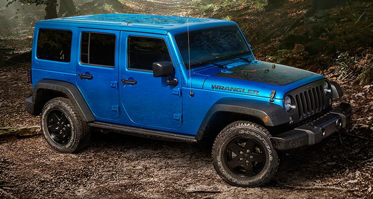 Jeep Wrangler ������� «������ �� ������» ����������� � ���