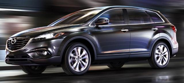 Новая Mazda CX-9 избавится от «лишних» цилиндров