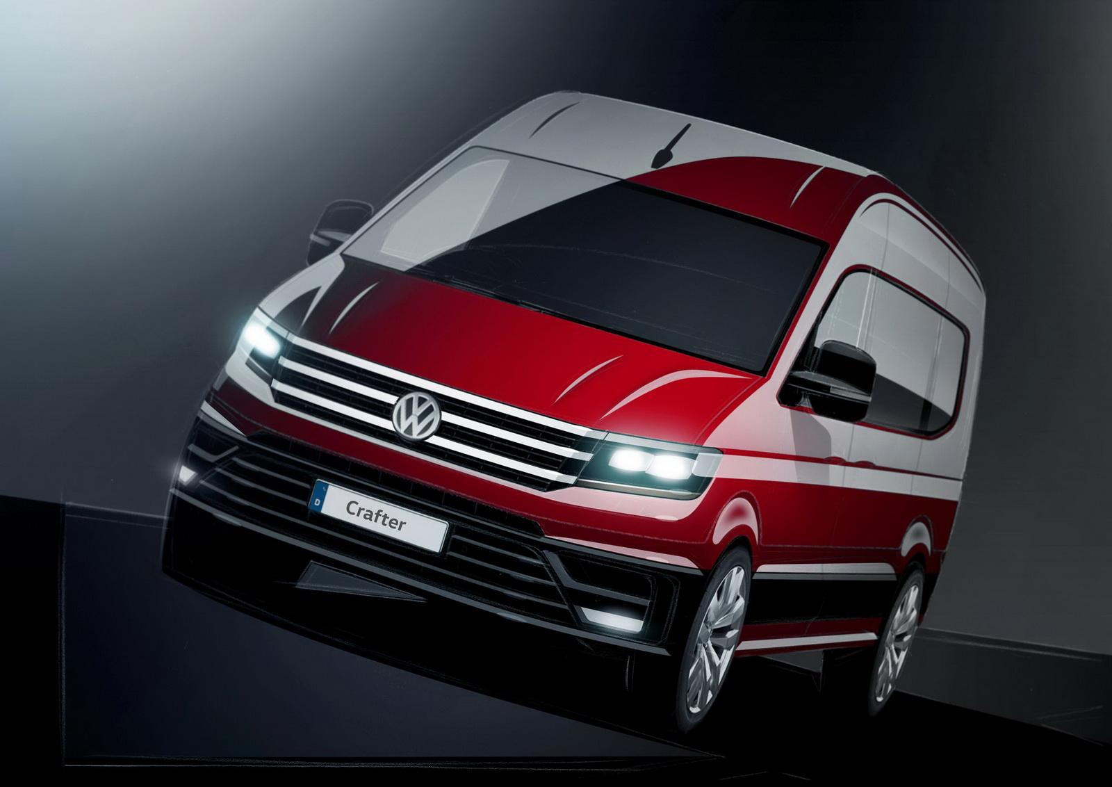 Volkswagen показал дизайн нового Crafter