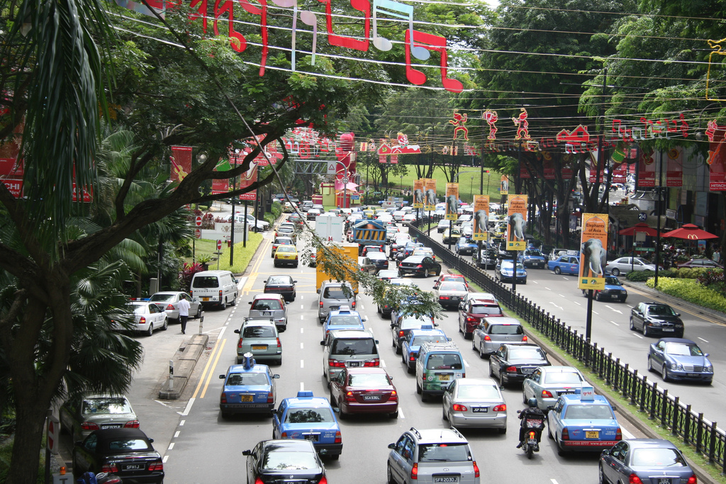 Сингапур запретит регистрацию новых машин
